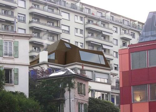 Rbch architectes lausanne flac for Architecte lausanne